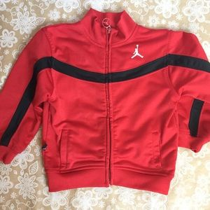 And 1 Red and Black Zip-Up Athletic Jacket